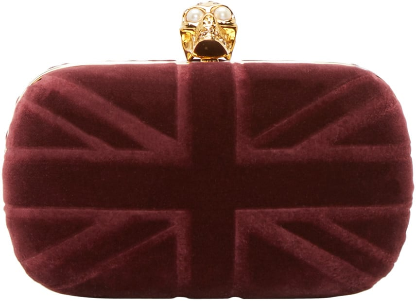 262a66541e Alexander McQueen Clutch | Gifts Inspired by Kate Middleton ...