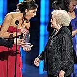Jane Leeves and Betty White