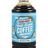 Organic French Roast Cold Brew Coffee Concentrate ($10)