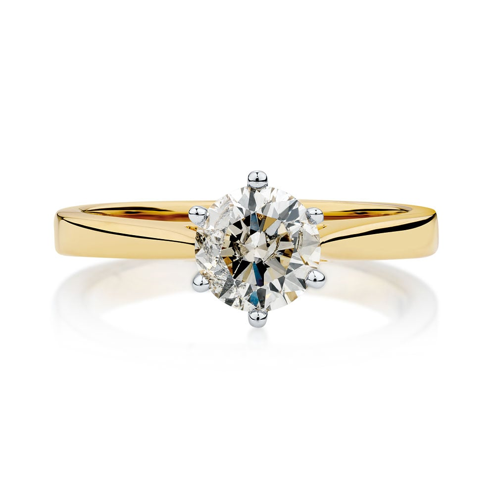 carat wedding gold solitaire price ring white engagement diamond marquise tw