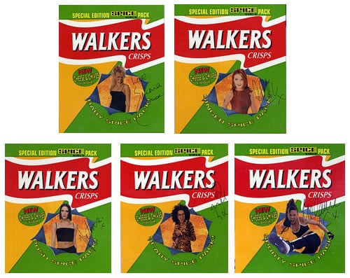 Care to Snack on Some Spice Girls Crisps?