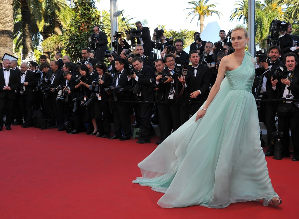 Diane Kruger in Giambattista Valli at Cannes Film Festival in 2012