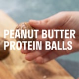 Leah Itsines Peanut Butter Protein Ball Recipe