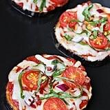 Aubergine Pizzas