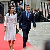 Princess Mary and Prince Frederik Arrived in Boston