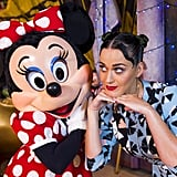 Katy Perry celebrated the Fourth of July at Walt Disney World Resort in Florida in 2014.