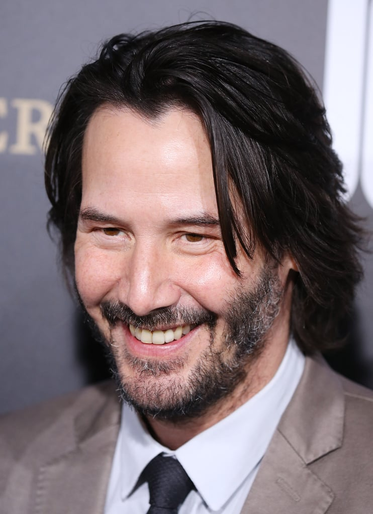 Pictures of Keanu Reeves Smiling | POPSUGAR Celebrity Photo 17