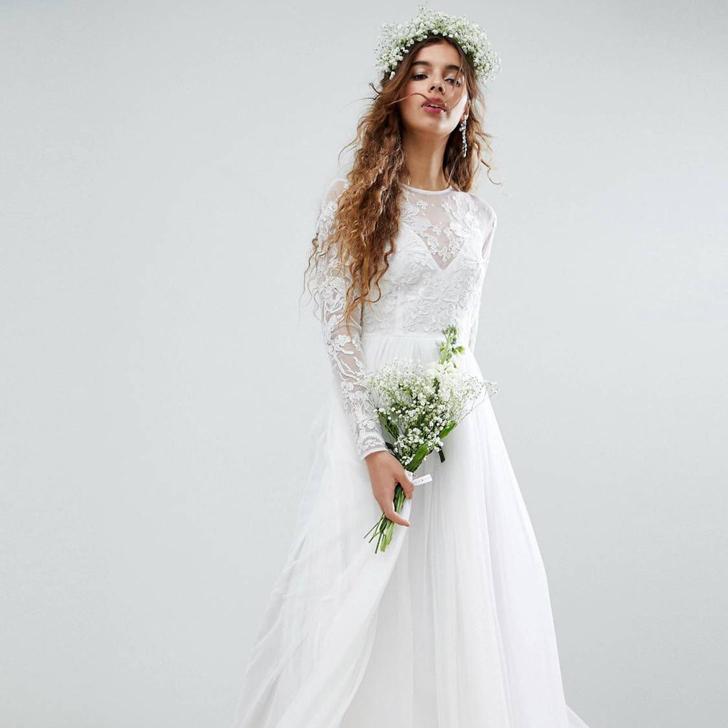 d3bc19b93886 Cheap ASOS Wedding Dresses | POPSUGAR Fashion