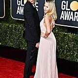 Dax Shepard and Kristen Bell at Golden Globe Awards