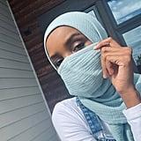 Halima Aden x Anywear