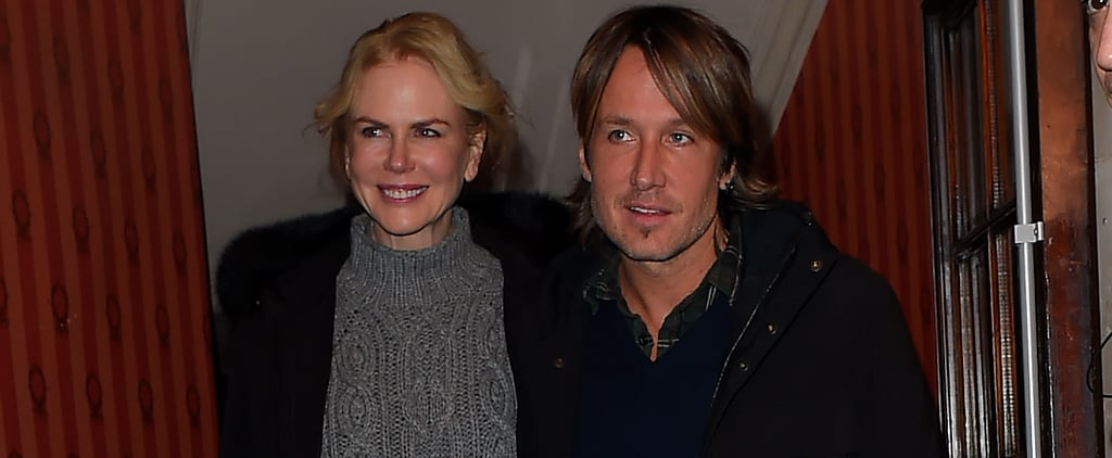 Nicole Kidman and Keith Urban Stick Together While Leaving Her Show