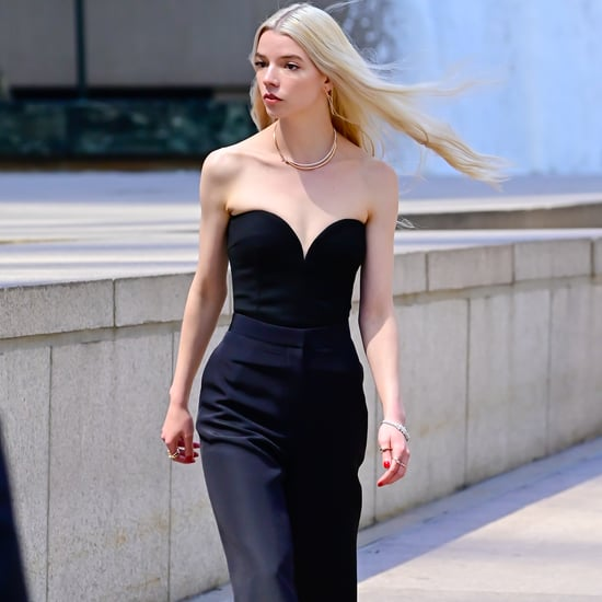 See Anya Taylor-Joy's Chic Look For a Tiffany & Co. Ad in NY