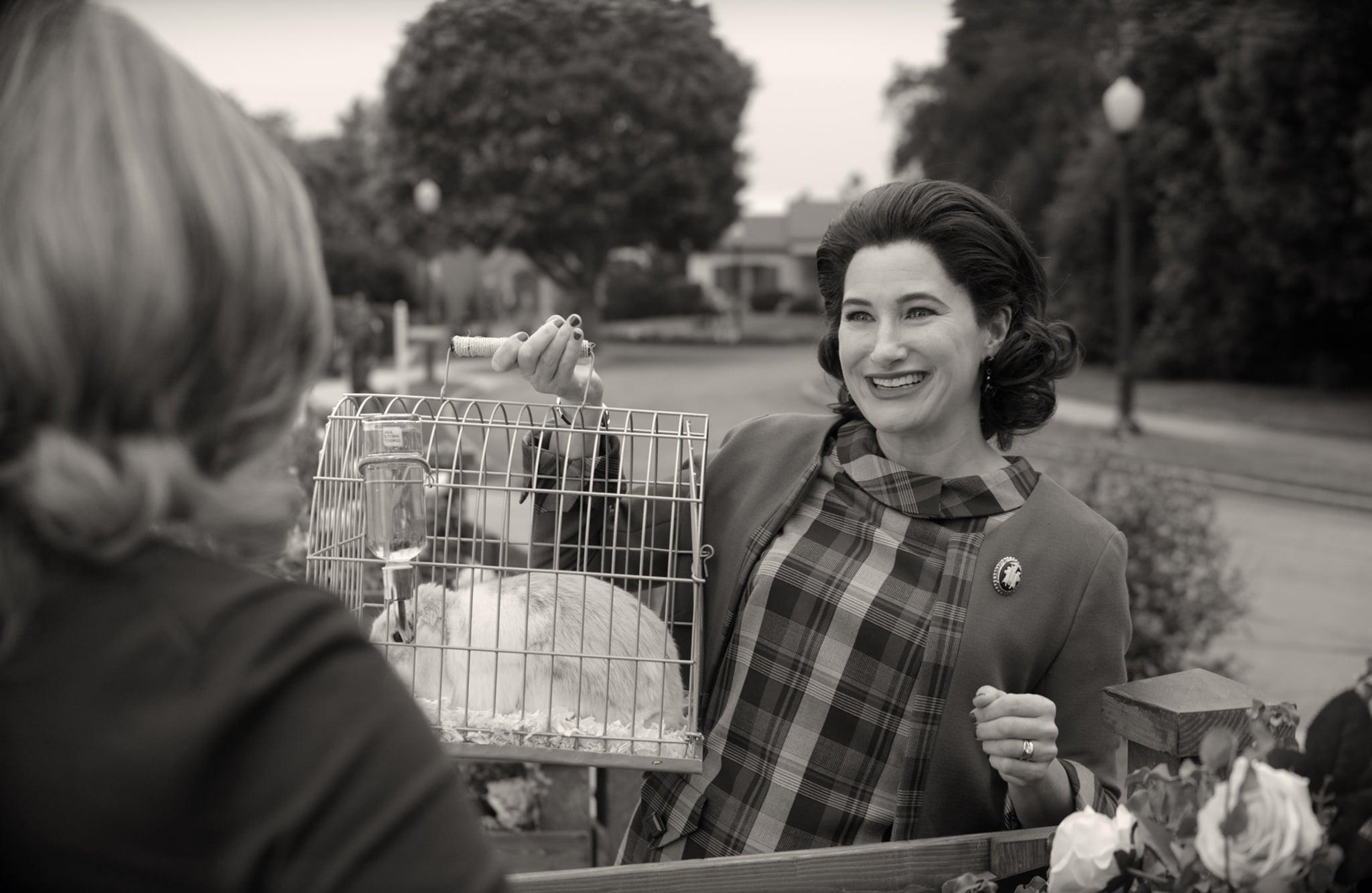 Agnes getting Wanda the Rabbit