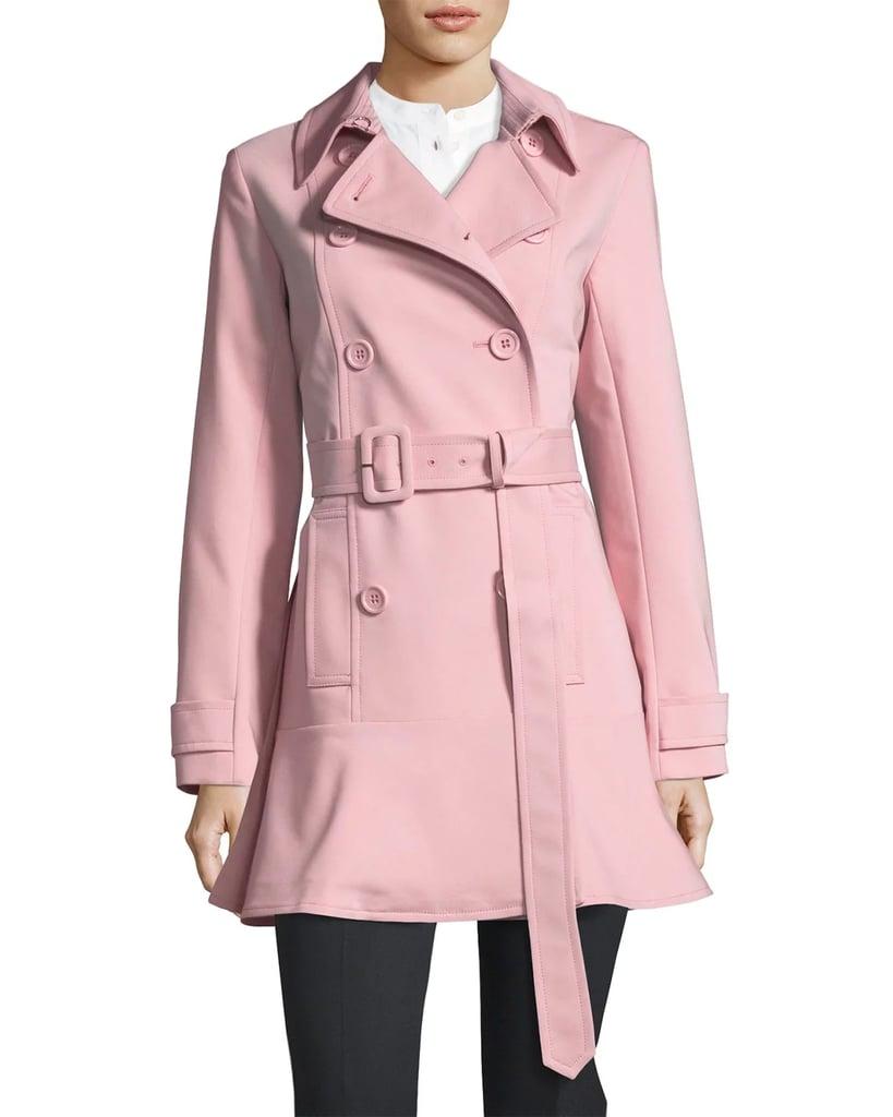Pastel trench coat