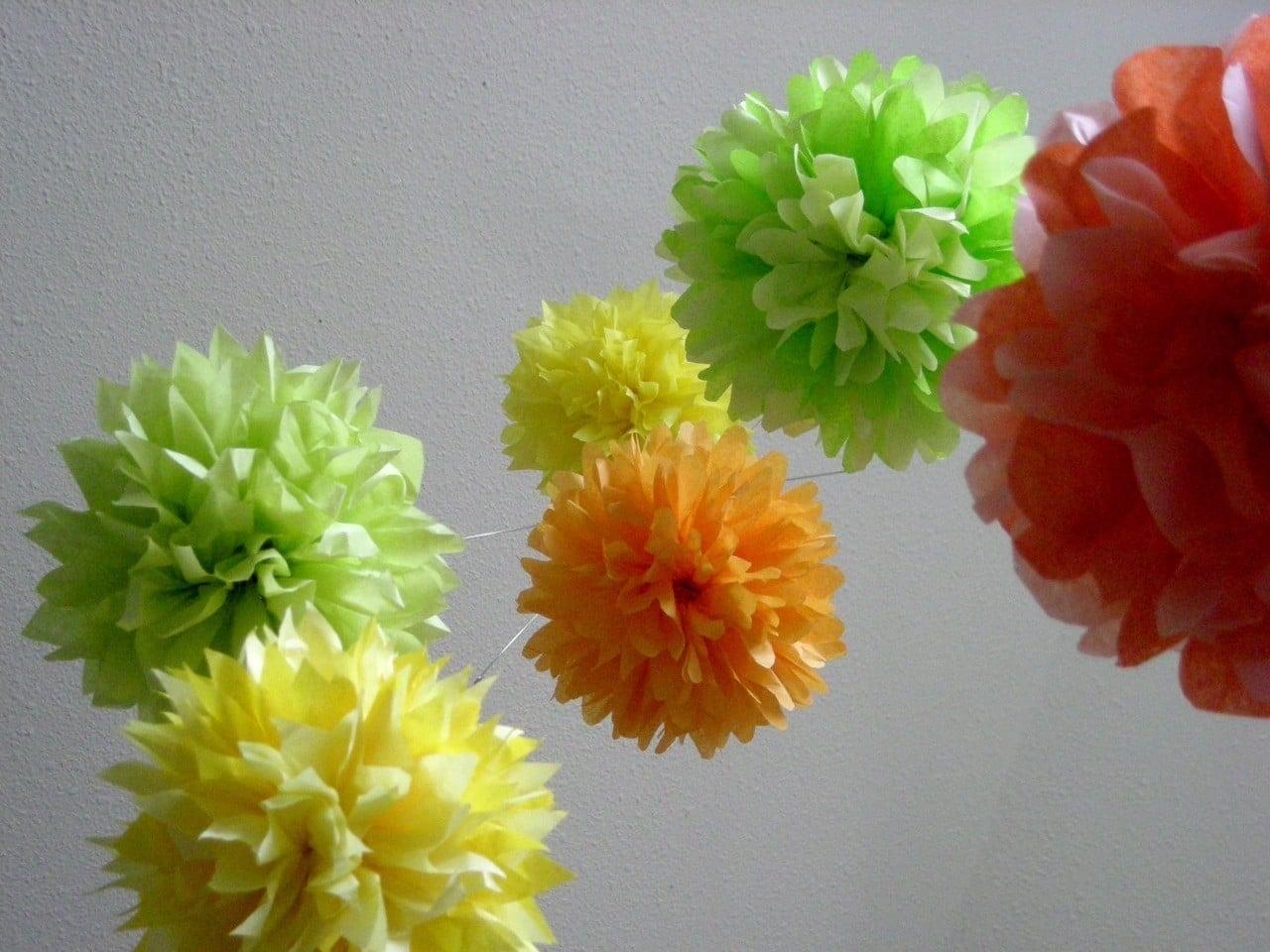 Decorate With Pretty Pom-Poms