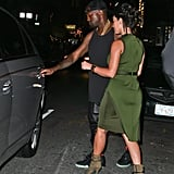 Kanye West and Kim Kardashian stepped out to see a Broadway production of Fela!