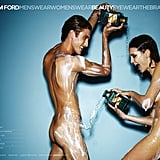 See Tom Ford's Latest Skin-Bearing Beauty Campaign, Featuring a Shower Scene