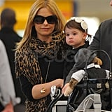 Sarah Michelle Gellar Leaves LA With Her Precious Cargo Charlotte