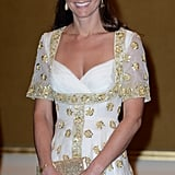 Kate's Embroidered Alexander McQueen Gown