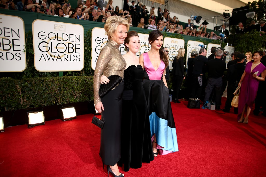 After Posing With Emma Thompson and Her Daughter Gaia