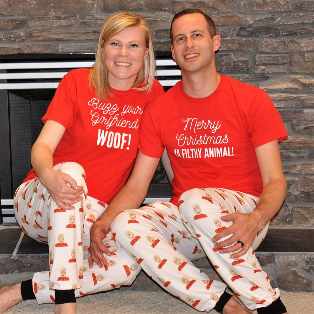 Adult Sizes of the Matching Home Alone Family Pajamas