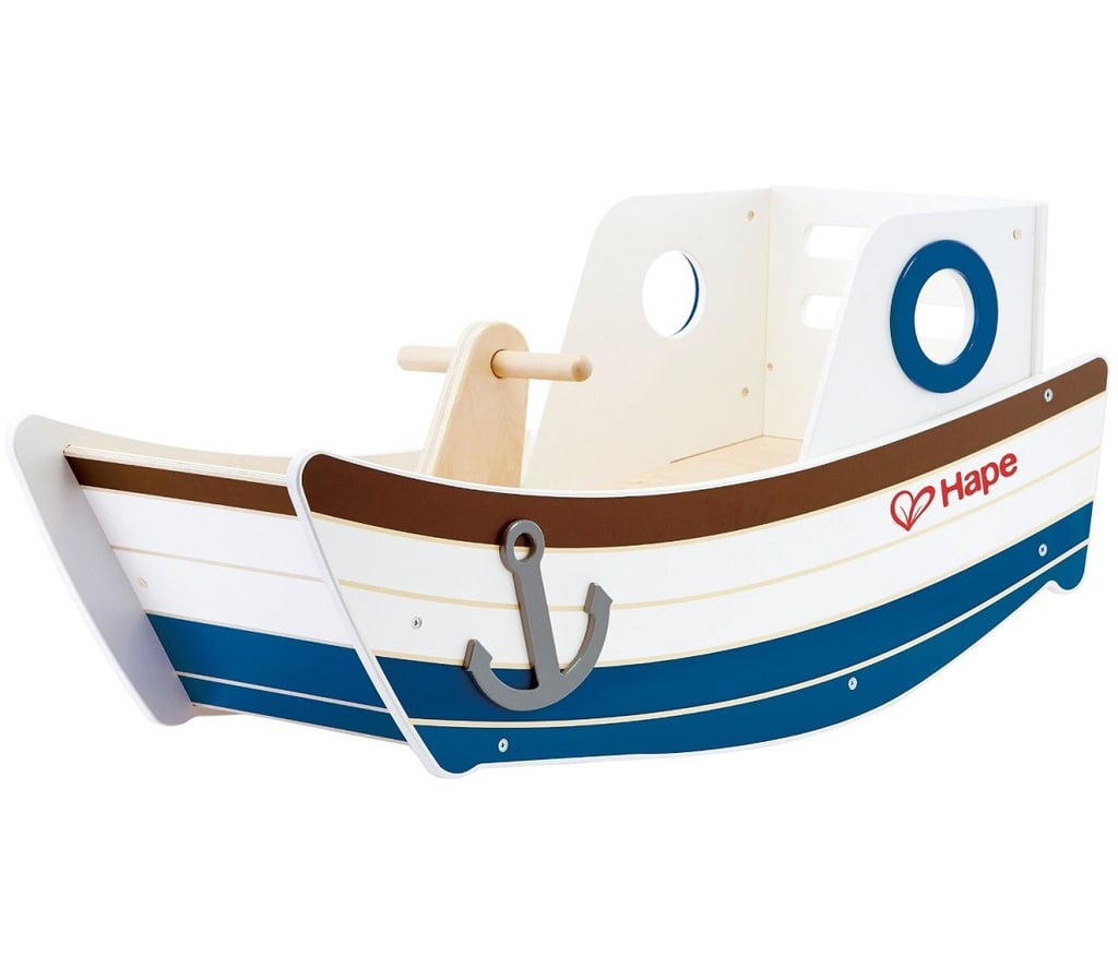 For 3-Year-Olds: Hape High Seas Boat Rocker