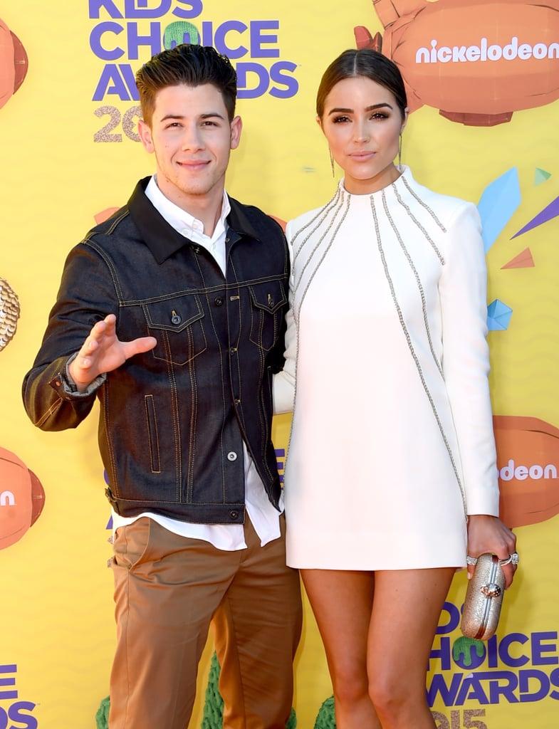 Celebrities at the 2015 Nickelodeon Kids' Choice Awards