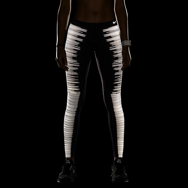But don't let brisk mornings and frigid nights keep you from outdoor training. Continue going for long runs at dusk and dawn, and make sure you'll be seen, with this reflective running gear.