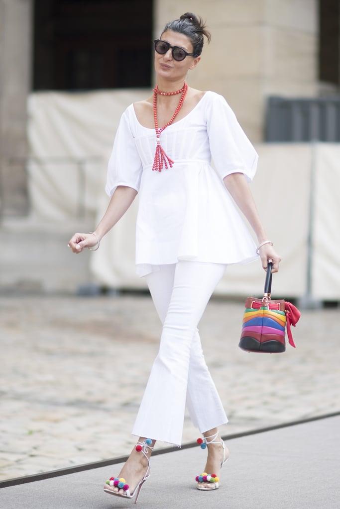 Giovanna Battaglia at Fashion Week Fall 2016