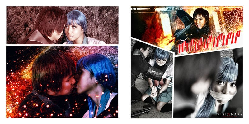 A manga-styled romance leaves no detail forgotten. Photo: Jervy Santiago