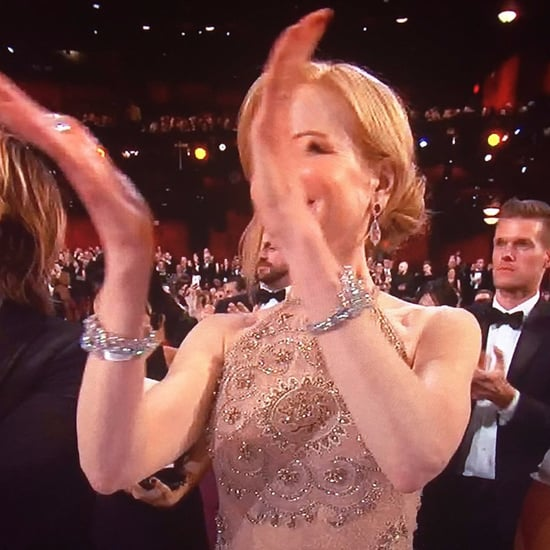 Nicole Kidman Talks About Her Clap at the Oscars