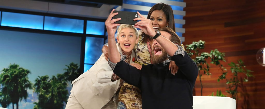 Bradley Cooper Makes a Surprise Appearance on Ellen to Re-Create That Oscar Selfie