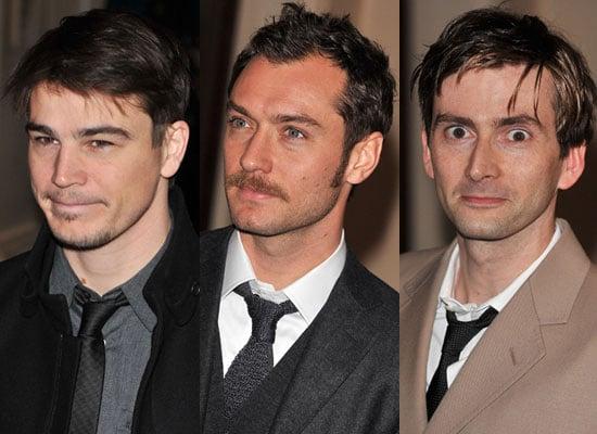 Photos of Josh Hartnett, Jude Law, David Tennant at The Evening Standard Theatre Awards