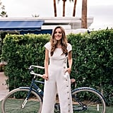 Gal Meets Glam Collection Jordan Wide-Leg Linen Blend Jumpsuit