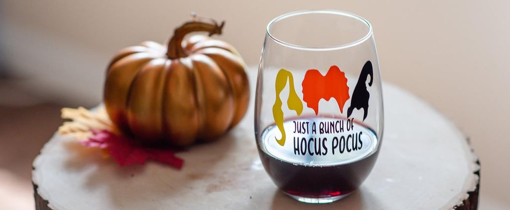 25+ Hocus Pocus Wine Glasses That Are Truly Perfect