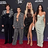 Kim and her family were a site for sore eyes at the 2019 E! People's Choice Awards in November.