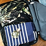 Double check your suitcase and carry-on
