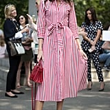 Select a Striped Summer Shirtdress
