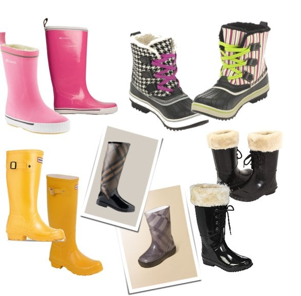 Matching Rain Boots For Moms and Kids