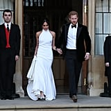 Meghan Markle Second Wedding Dress
