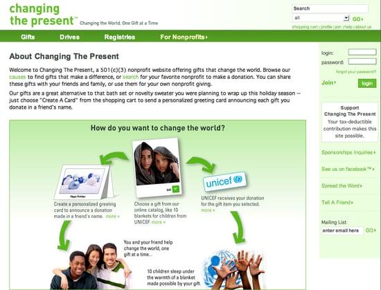 Fab Site: ChangingThePresent.org