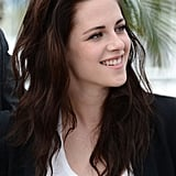 Kristen Stewart smiled at the On the Road photocall at the Cannes Film Festival.