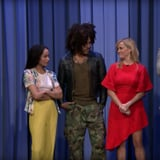 Reese Witherspoon, Zoë, and Lenny Kravitz Have an Intense Lip-Sync Battle on The Tonight Show