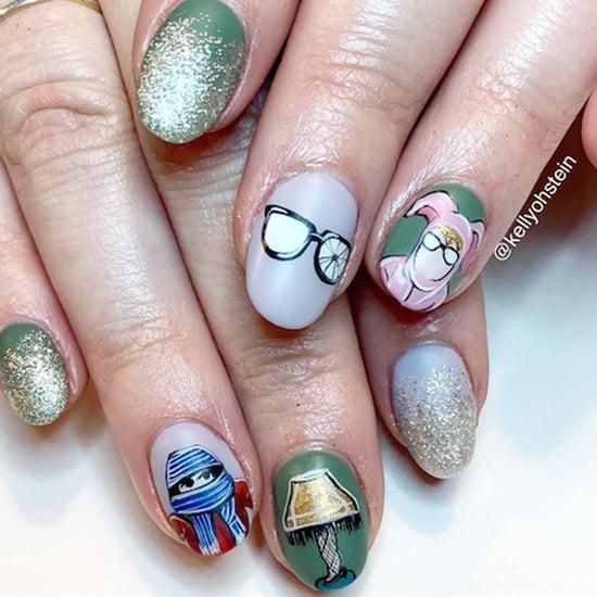 A Christmas Story Nail Art