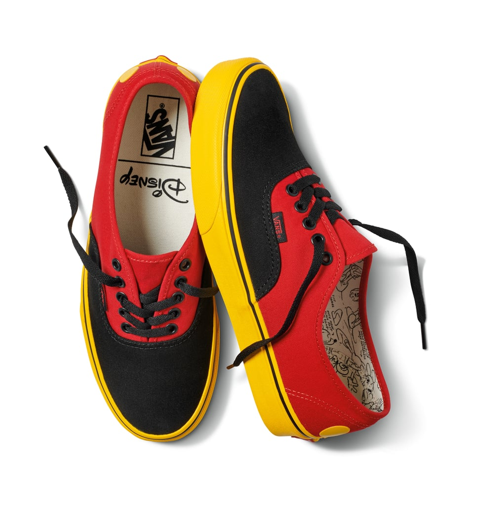 22c1f77890b Disney x Vans Authentic in Mickey Mouse Red Yellow