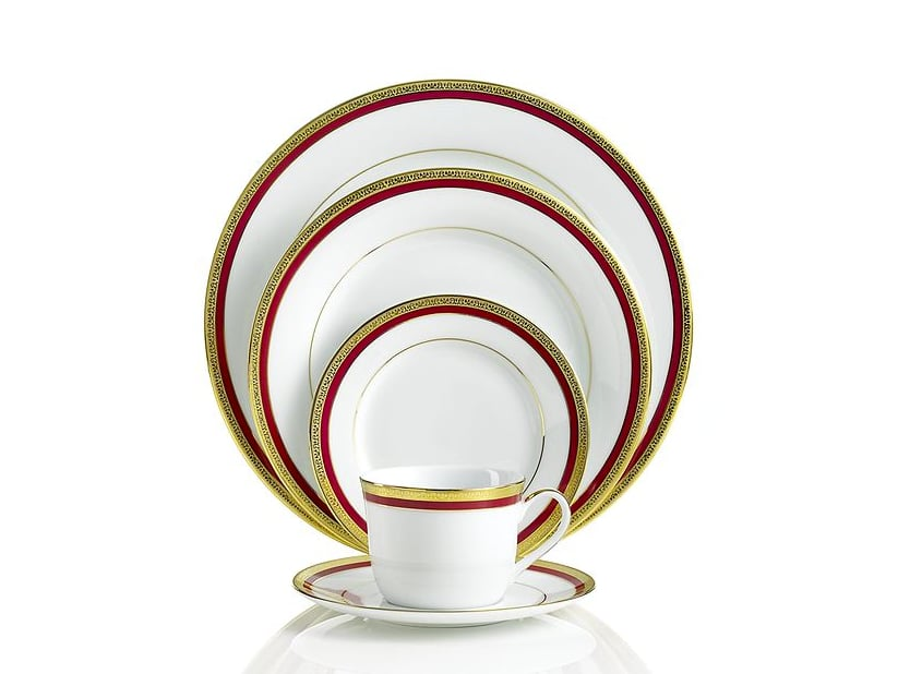 Gilded Place Setting