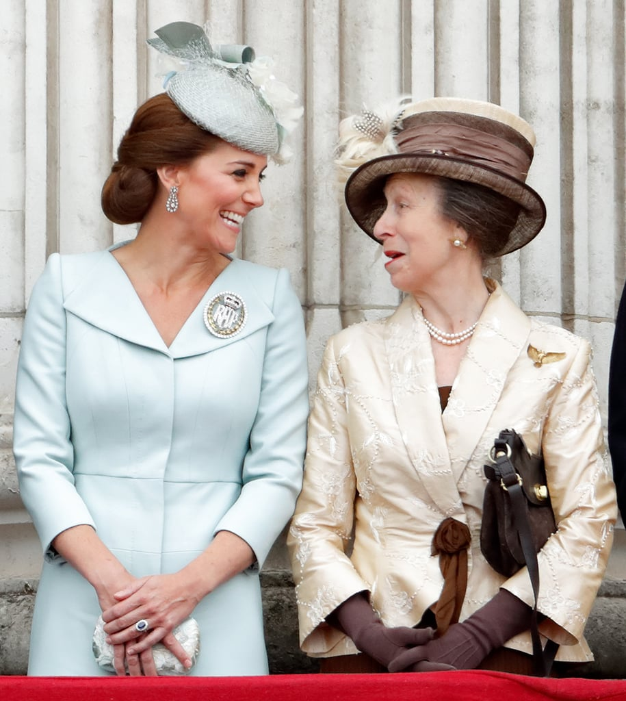 Kate Middleton and Princess Anne