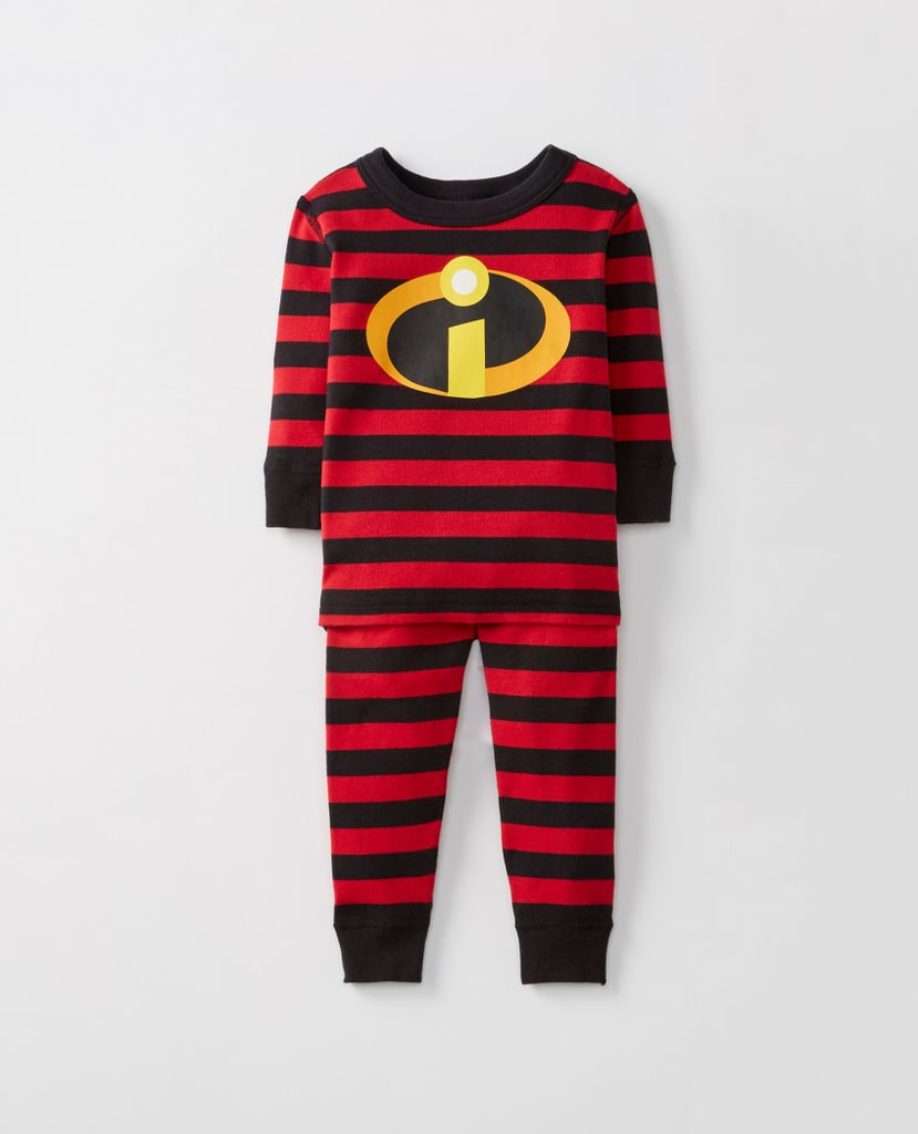 INCREDIBLES 2 SUIT PAJAMAS WITH MASK in Various Sizes