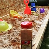Mix a cup of cinnamon into your child's sandbox.