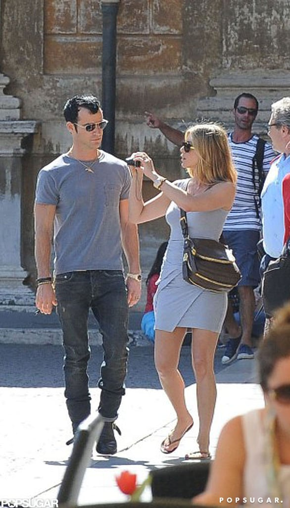 The cute couple toured the Vatican Museums in June 2012.